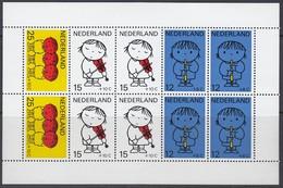NIEDERLANDE Block 8, Postfrisch **, Zeichnungen Von Dick Bruna, 1969 - Blocs