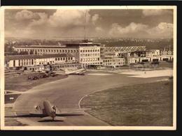 Flughafen Stuttgart-echterdingen Airport Swissair Plane Ca 1950 W5_1214 - Aérodromes