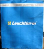 Leuchtturm - Feuilles BLANCO LB 3 VERT (3 Bandes Verticales) (paquet De 10) - Albums & Binders