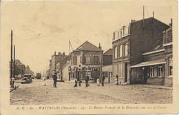 WATTRELOS Le Bureau Francais De La Houzarde , Vue Vers La France - Wattrelos