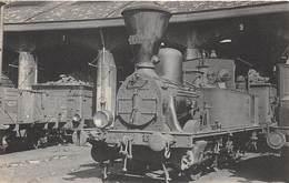 40 .n°  107208  .  Train .locomotives Des Voies Ferrees .collection A Lepage . - Andere Gemeenten