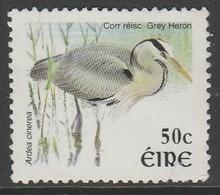 Ireland 2002 Birds 50C Multicoloured SW 1393 O Used - Used Stamps