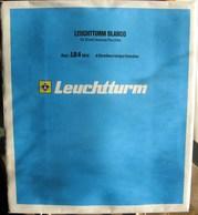 Leuchtturm - Feuilles BLANCO LB 4 MIX (1 Poche + 3 Bandes) (paquet De 10) - Albums & Binders