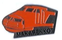 MARQUES DIVERSES - M479 - MAKARENKO - TGV SE - Verso : SM - TGV