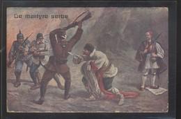 SERBIA AUSTRIA GERMANY BULGARIA WWI PROPAGANDA FRANZ JOSEF PETAR - Serbia