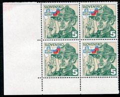 SLOVAKIA 1995 Scouts Block Of 4 MNH / **.  Michel 228 - Nuevos