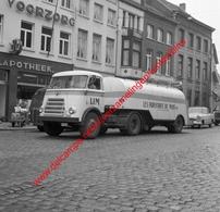 Vrachtwagen Les Industries Du Mais SA In April 1962 - Photo 15x15cm - Camion DAF - Automobiles