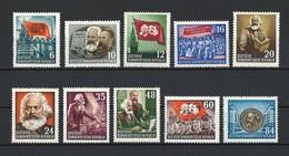 DDR Mi 344 Bis 353 Komplett Postfrisch - [6] Democratic Republic