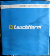 Leuchtturm - Feuilles BLANCO LB 5 (5 Bandes) (paquet De 10) - Albums & Binders