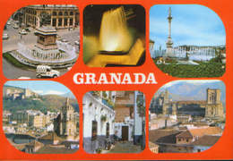 Spain - Postcard Unused  - Granada - Views - Granada