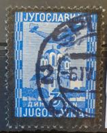 YUGOSLAVIA 1935 - Canceled - Sc# C6 - Air Mail - 1931-1941 Königreich Jugoslawien