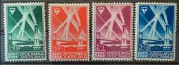 YUGOSLAVIA 1938 - MLH - Sc# B62-B65 - Complete Set! - 1931-1941 Königreich Jugoslawien