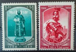 YUGOSLAVIA 1939- MLH - Sc# B88, B89 - 1931-1941 Königreich Jugoslawien