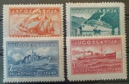 YUGOSLAVIA 1939- MNH - Sc# B90-B93 - Complete Set! - 1931-1941 Königreich Jugoslawien
