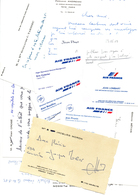 CONCORDE Air France Ensemble De Cartes De Visite - Tarjetas De Visita
