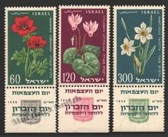 Israel 1959 Yv. 152-54, 11th Ann. Israel State – Tab - MNH - Nuevos (con Tab)