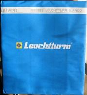 Leuchtturm - Feuilles BLANCO LB 5 VERT (5 Bandes Verticales) (paquet De 10) - Albums & Binders