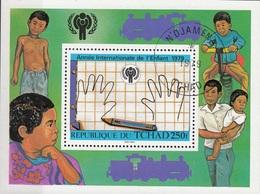 Ciad 1979 Sc. 378 Annèe Internationale De L'Enfant Sheet Perf. CTO Chad Tchad - Ciad (1960-...)