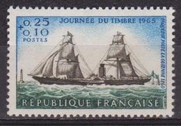 Journée Du Timbre - Paquebot Poste La Guienne - FRANCE - Marine - N° 1446 ** - 1965 - Nuovi