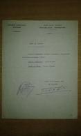 Ordre De Mission De L'assemblée Consultatie Provisoire à Alger De 1944 - 1939-45