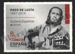 Spain - Espagne 2014 Yvert 4583, Europe, National Musical Instruments, Guitarist Paco De Lucía - MNH - 2011-... Ongebruikt
