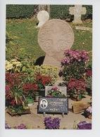 Arcangues : Le Cimetière, Tombe Discoïdale De Luis Mariano 1914-1970 (poème Pierre D'Arcangues, Cp Vierge) - Autres Communes