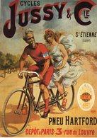Cycles Jussy & Cie  -  Nos Elégantes Bicyclettes  -  Publicité Vélos   -  CPM - Cycling
