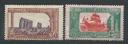 TUNISIE N° 102+108 ** TB  1 - Tunisie (1888-1955)