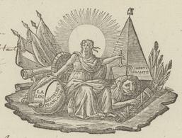 Héraldique Belfort An 4 - 19.1.1796 Henri Germain Vernerey Commandant-amovible De La Place - Historical Documents