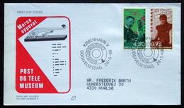 Denmark  1998  Communication Museum Telegraph Telephone Uniform    MiNr.1182- 85   FDC ( Lot  Ks ) - FDC