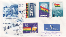 Plebiscite In British Togoland Africa, 10.dec.1959 - Briefe