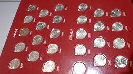 Набор монет 1 копейка 5 копеек Россия 1997-2014  52 монеты - Russia