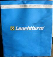 Leuchtturm - Feuilles BLANCO LB 7 (7 Bandes) (paquet De 10) - Für Klemmbinder