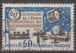 Télécommunications - FRANCE - Union Internationale - N° 1451 - 1965 - Used Stamps