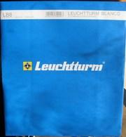 Leuchtturm - Feuilles BLANCO LB 8 (8 Bandes) (paquet De 10) - Albums & Binders