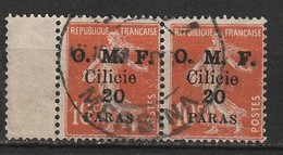 Cilicie N° 91 Oblitération Mersina - Cilicia (1919-1921)