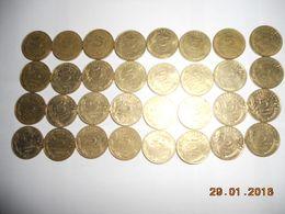 Lot De Piece Francaise 107 P De 5c 10 C 20 C 50 C 1fr Pour Commencer Une Collection Toute Differente - Monnaies & Billets