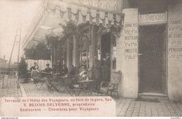 Spa - Terrasse De L'hôtel Des Voyageurs - Restaurant - Vue Animée - 2 Scans - Spa