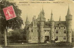 """CP De RADINGHEM """" Château Féodal """" FRUGES . - Fruges"""