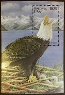 Maldives 1997 Birds Eagle Minisheet MNH - Vögel