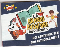 2 Autocollants La Grande Aventure Des Sports Pitch N° 11 Et 61 - Autocollants