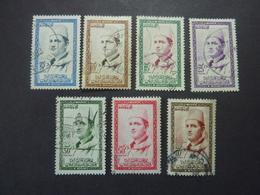 MAROC Etat Indépendant, ZONE SUD, Année 1956, YT N° 362 à 368 Oblitérés - Morocco (1956-...)