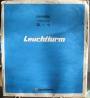 """Leuchtturm - Feuilles BLANCO Titrée """"SUISSE"""" (paquet De 12) - Fogli Bianchi"""