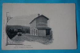 CPA 38 SAINT SIMEON DE BRESSIEUX RARE PRÉCURSEUR AVANT 1905 Série TRAMWAYS DE L'ISÈRE Canton BIÈVRE - France