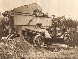 Automobile De Creusement De Tranchée 1916 - 1914-18