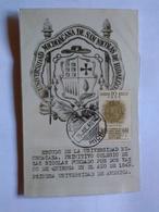 Mexico Maximun Card Unique 1940 Coat Of Arms Michoacán University Morelia Pmk By Jose Buil - Mexique