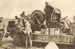 Installation D'un Treuil Automobile Pour élévation Des Ballons D'obsservation 1916 - 1914-18