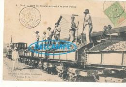 NOUVELLE CALEDONIE ))  THIO    Train De Minerai Arrivant à La Prise D'essai  3 - Nouvelle Calédonie