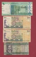 Soudan Du Sud 4 Billets Dans L 'état Lot N °2 (140) - Zuid-Soedan