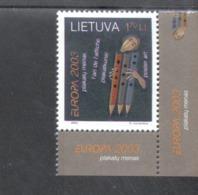 CEPT Plakatkunst / Poster Art Litauen 816 MNH ** Postfrisch - Europa-CEPT
